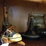 shoe candle holder